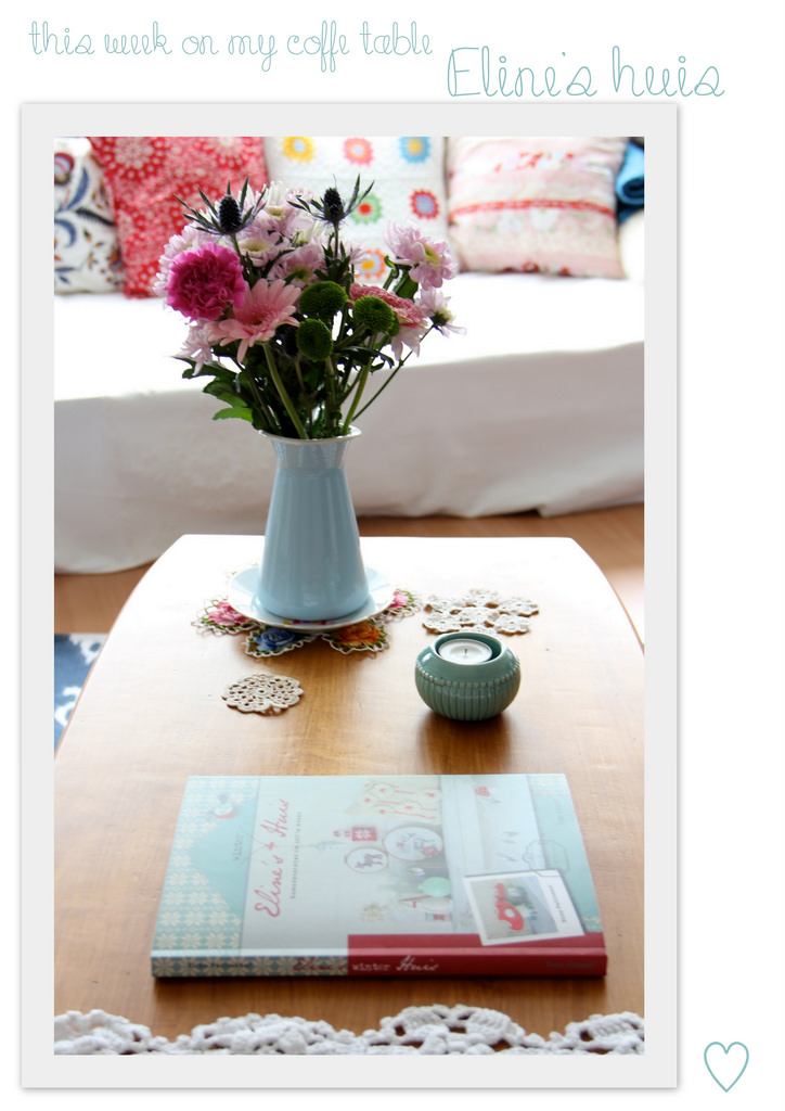 This week on my coffee table: ELINE'S WINTER HUIS